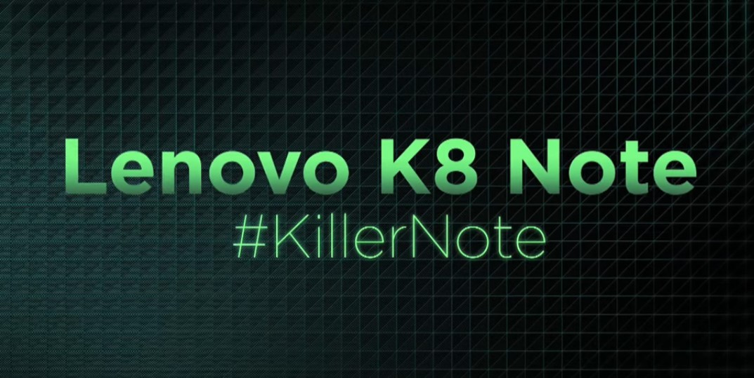 Lenovo has announced the K8 Note; Stock Android and dual cameras