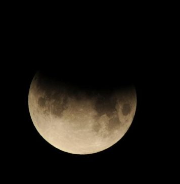 Lunar eclipse on August 7