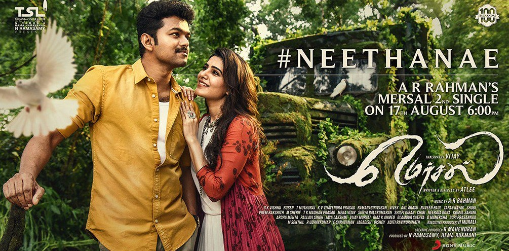 Mersal 2nd Single Date, Time, Song name officialy released