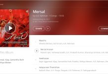 Mersal full album officially released