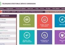 TSPSC Recruitment Exam 2017 Commmission changes exam dates