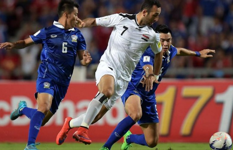 Thailand vs Iraq Live Streaming Update