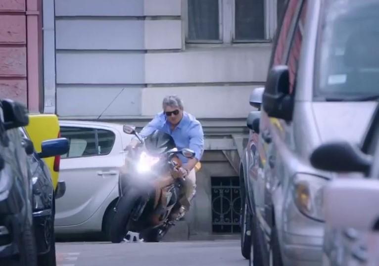 Vivegam Ajith bike scene