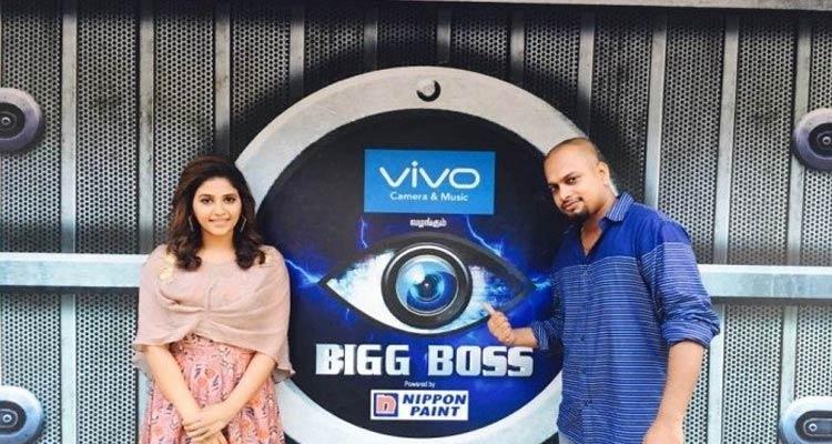 Anjali in Bigg Boss Tamil House