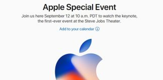 Apple event on September 12, iPhone 8 will be launched on