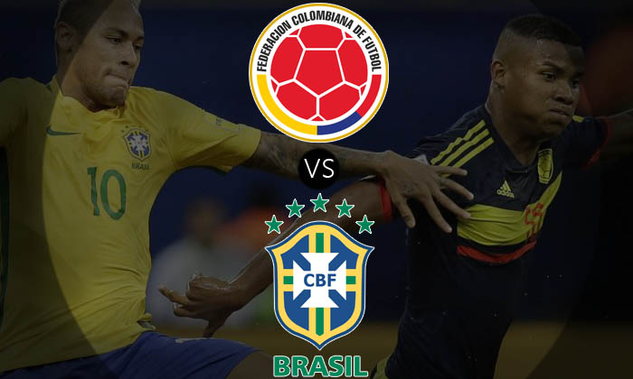Colombia vs Brazil World Cup 2018 Qualifier