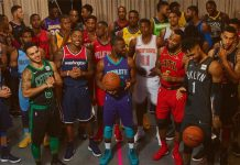 NBA Basketball 30 New uniforms reveals by Nike from Adidas for this season