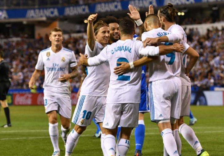 Real Madrid vs APOEL Champions League 2017-18
