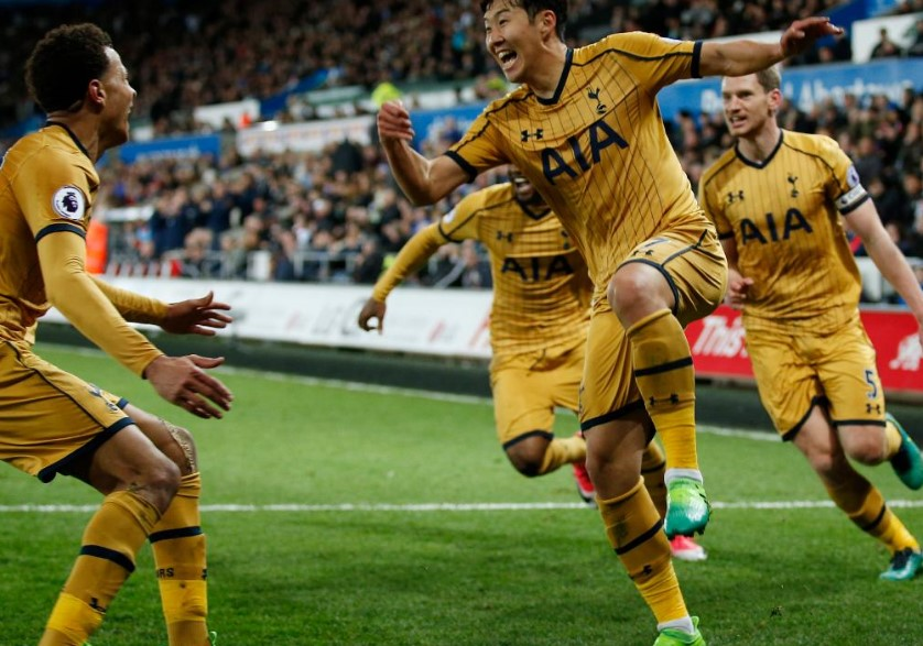 Tottenham Hotspur vs Swansea City