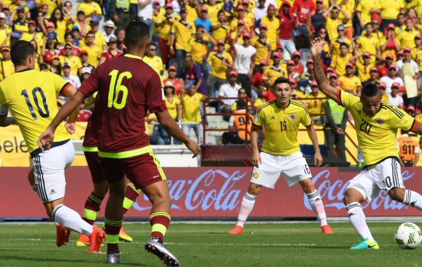 Venezuela vs Colombia World Cup Qualifier 2018