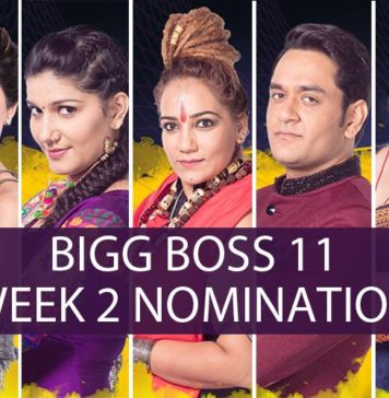 Bigg Boss 11 week 2 Nomination