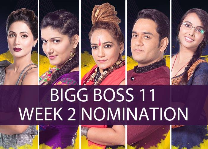 Bigg Boss 11 week 2 Nomination