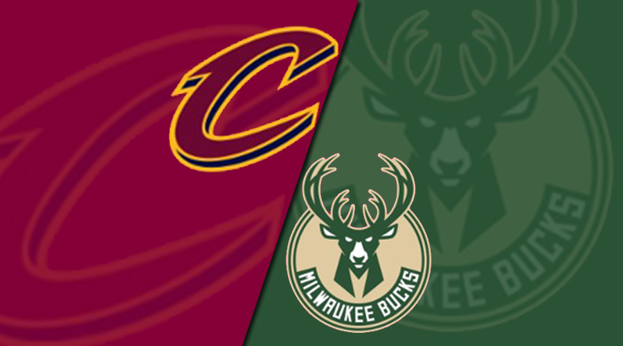 Cleveland Cavaliers @ Milwaukee Bucks Live Streaming NBA Regular Season