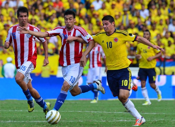 Colombia vs Paraguay Live Streaming, Lineups, Preview - WCQ 2018
