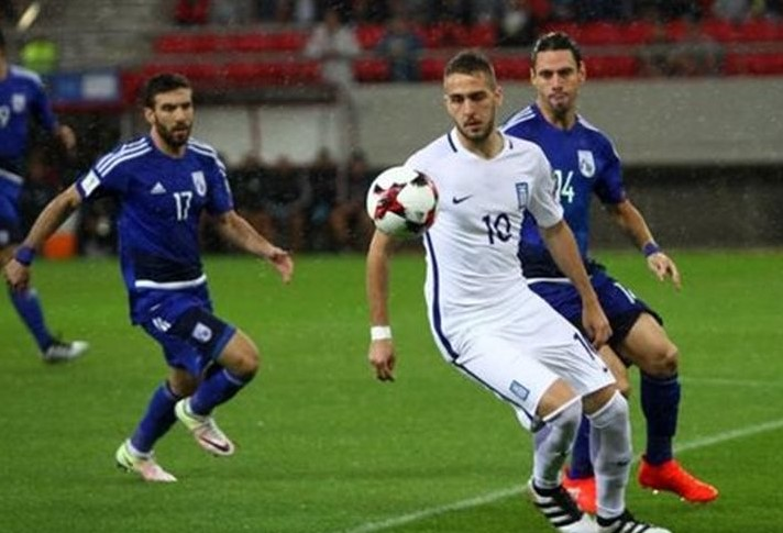 Cyprus vs Greece Live Streaming, Lineups, score - WCQ 2018