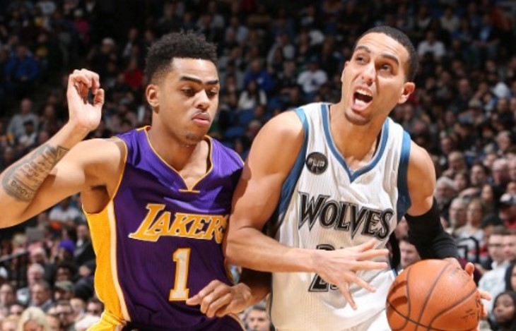 Minnesota Timberwolves vs Los Angeles Lakers Live Streaming NBA preseason 2017