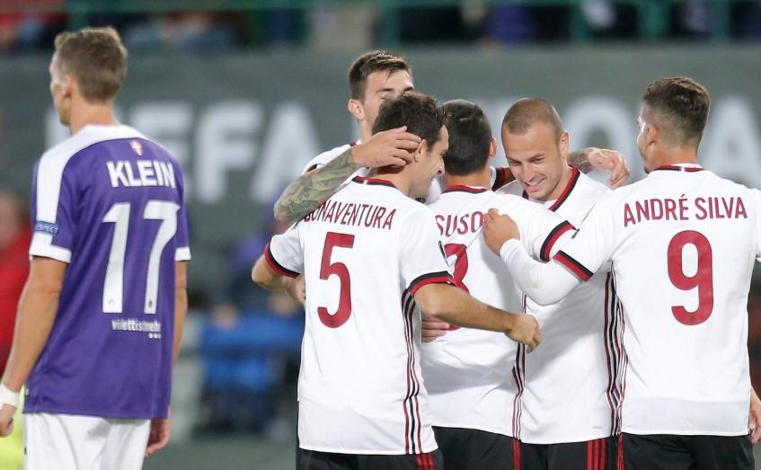 Milan vs Austria Wien
