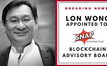 Lon Wong appointed to SNAP Interactive