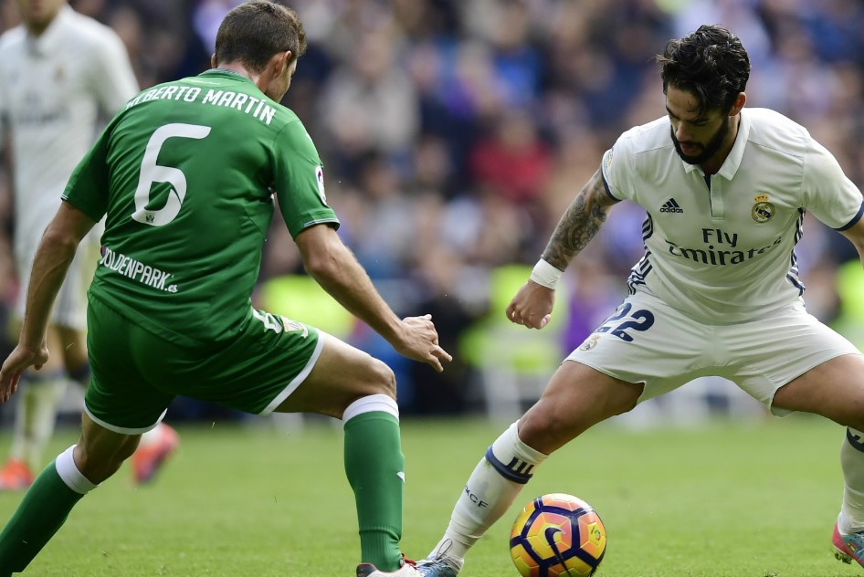Real Madrid Vs Leganes Match Result