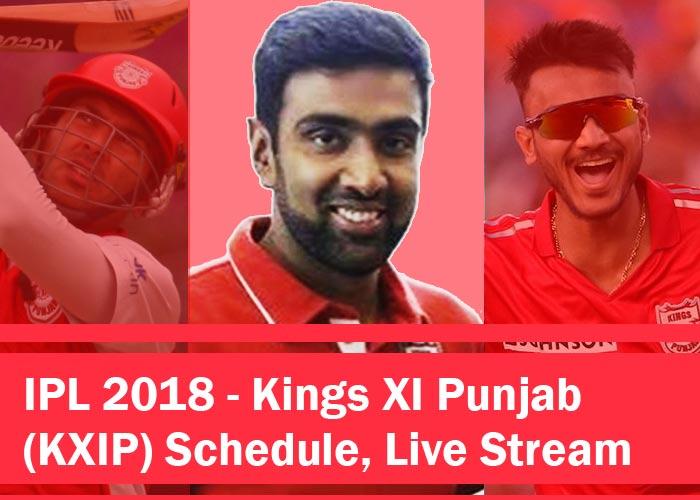 KXIP 2018 - IPL 2018