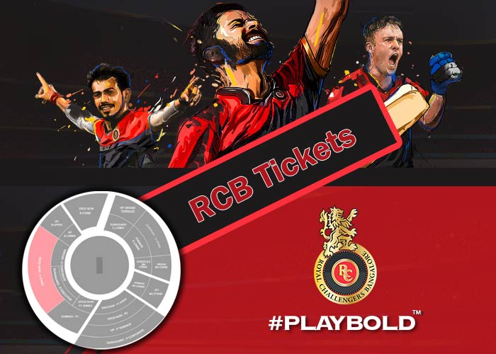 RCB Ticket booking