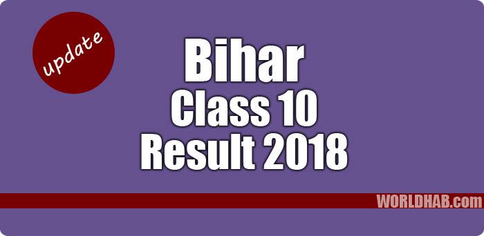 Bihar class 10th results 2018