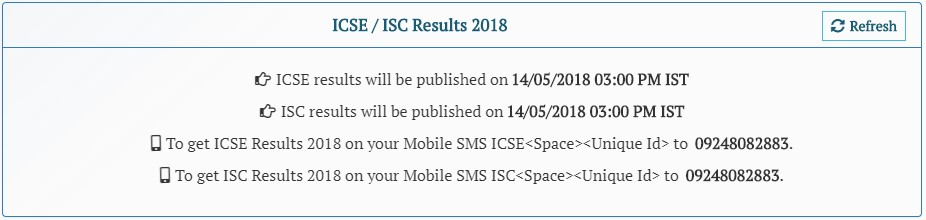 ICSE results 2018 ISC results 2018