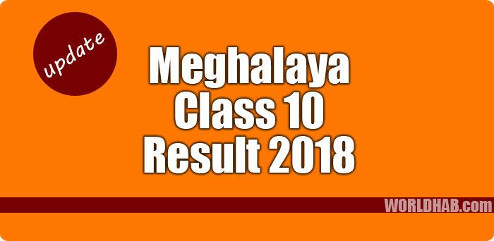 Meghalaya MBOSE result 2018
