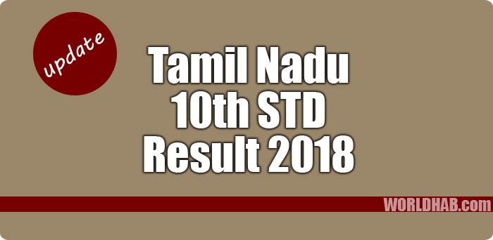 TN 10th result 2018, TN SSLC result 2018