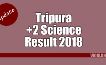 Tripura 12th Science Results 2018