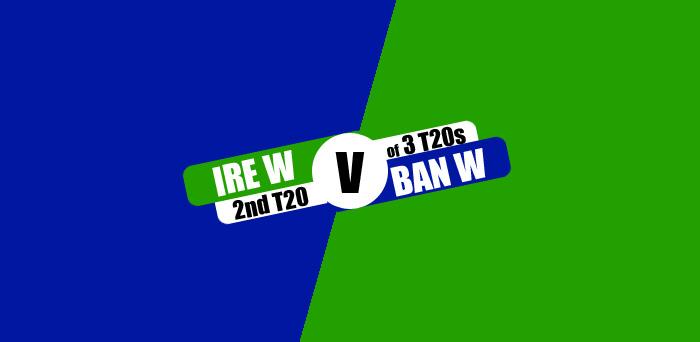 IREW vs BANW 2nd T20 Live