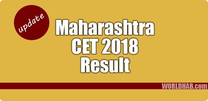 Maharashtra CET 2018 result