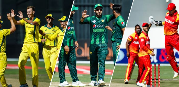 Australia and Pakistan in Zimbabwe T20I Tri-Series 2018 Points Table