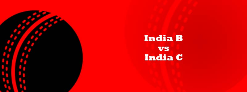 India B vs India C Live Cricket Score IND B vs IND C