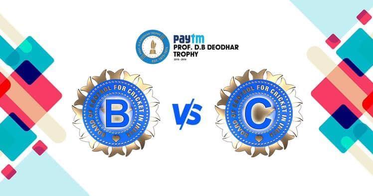 India B vs India C