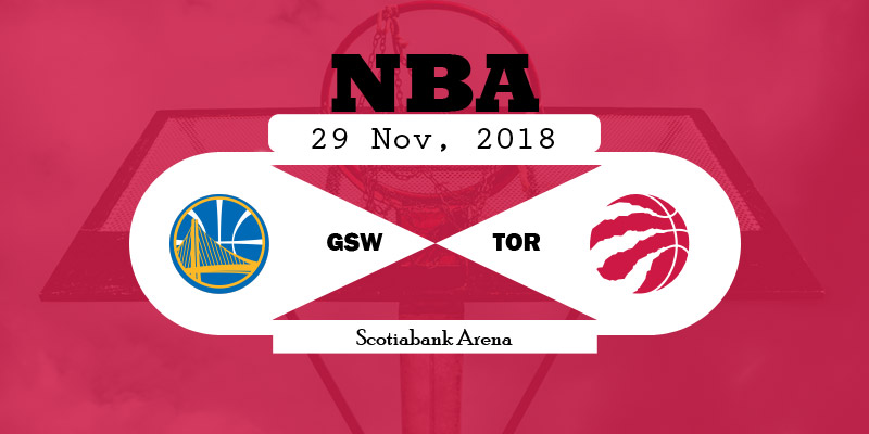 Golden State Warriors vs Toronto Raptors