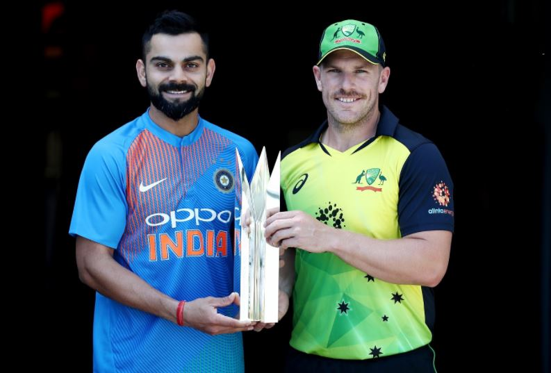 India vs Australia Live Cricket Score 1st T20 IND vs AUS