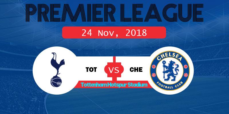 Tottenham Hotspur vs Chelsea Live Streaming TV list