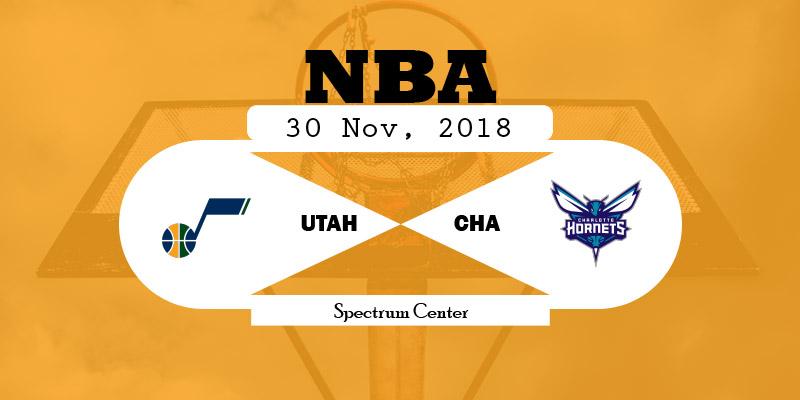 Utah Jazz vs Charlotte Hornets
