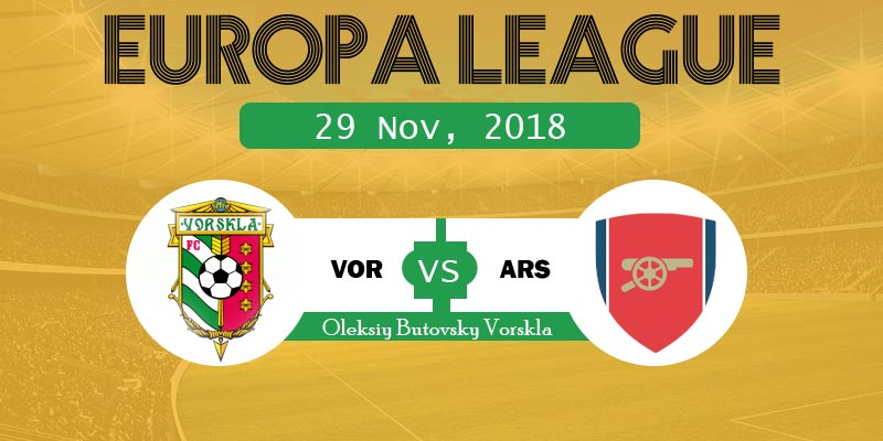 Vorskla vs Arsenal