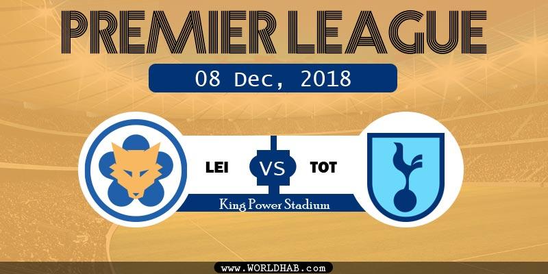 Leicester City vs Tottenham Spur