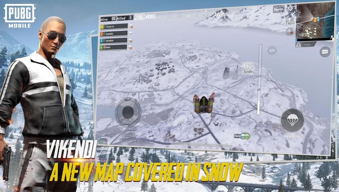 Pubg Mobile To Release Snow Map Vikendi On December 20: PUBG Mobile Vikendi Snow Map Available To Update On