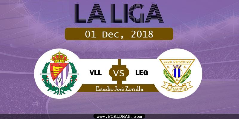 Real Valladolid vs Leganes