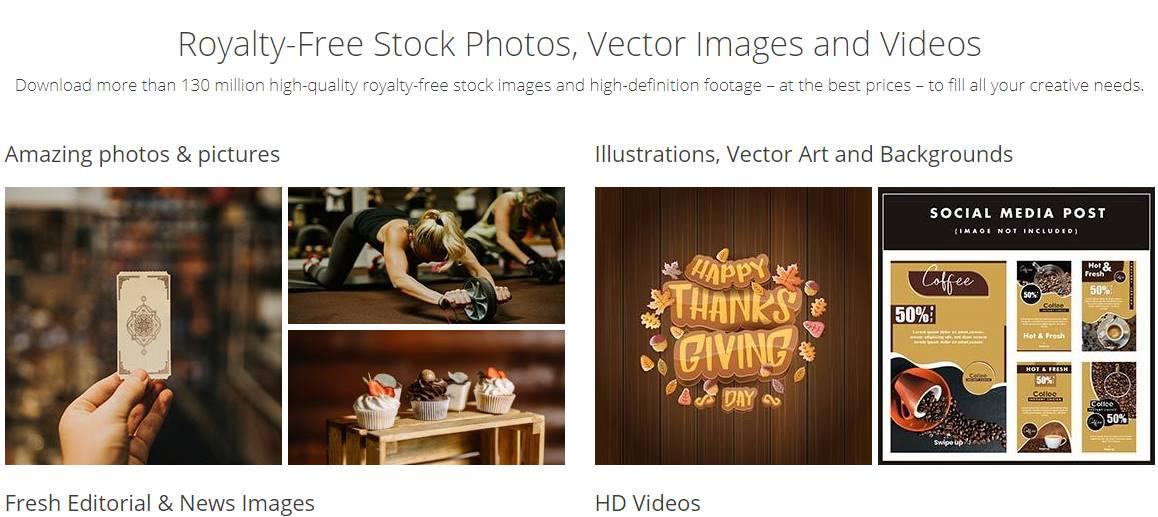 Download free digital photos in DepositPhotos