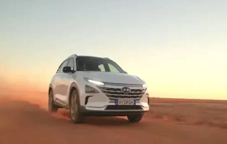 Hyundai car sets world record for 900 km on hydrogen fuel