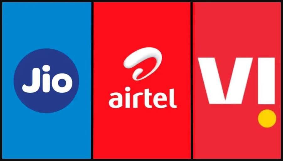 Jio vs Airtel vs Vi prepaid plan with 2GB and 1.5GB data per day
