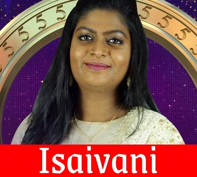 Bigg Boss Tamil 5 Isaivani