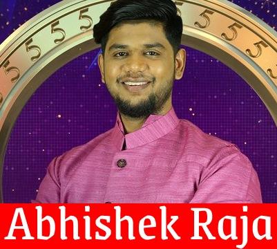 BB5 Tamil Abhishek Raja