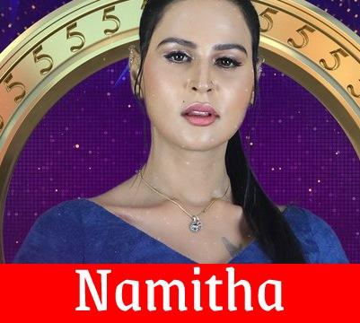 Bigg Boss Tamil Namitha Marimuthu