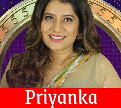 Priyanka Bigg Boss Tamil 5